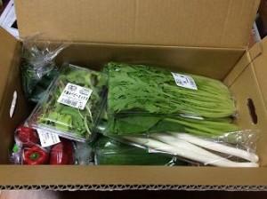 チムニー野菜セット開封