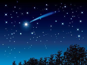 流れ星画像