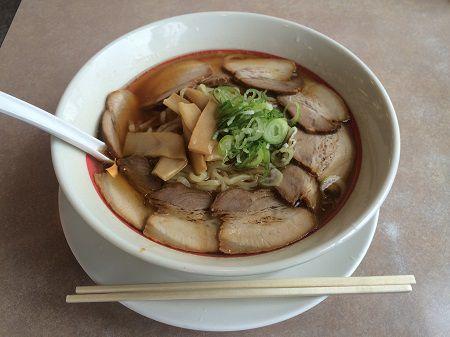 幸楽苑のチャーシュー麺