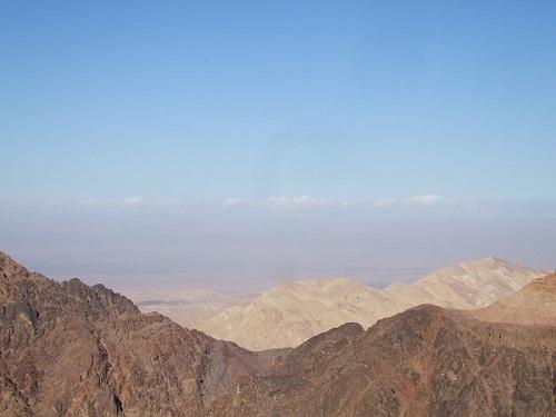 ペトラ遺跡 山
